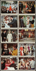 "Movie Posters:Comedy, Made in Paris (MGM, 1966). Color Photo Set of 10 (8"" X 10""). Comedy.. ... (Total: 10 Items)"