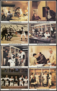 "Bang the Drum Slowly (Paramount, 1973). Mini Lobby Card Set of 8 (8"" X 10"") and Photos (8) (8"" X 10""..."
