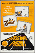 "Movie Posters:Animated, Freeway Phobia (Buena Vista, 1965). One Sheet (27"" X 41""). Animated.. ..."