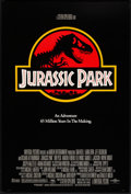 "Movie Posters:Science Fiction, Jurassic Park (Universal, 1993). One Sheet (26.75"" X 40"") DSRegular. Science Fiction.. ..."
