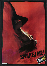 "Tie Me Up! Tie Me Down! (Lucerna Film, 1990). Czech Poster (11.75"" X 16.5""). Drama"