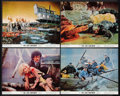 """Movie Posters:Science Fiction, The Lost Continent (20th Century Fox, 1968). Color Photos (4) (8"""" X 10""""). Science Fiction.. ... (Total: 4 Items)"""