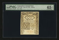 Colonial Notes:Connecticut, Connecticut June 19, 1776 6d PMG Gem Uncirculated 65 EPQ....