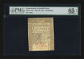 Colonial Notes:Connecticut, Connecticut May 10, 1775 40s PMG Gem Uncirculated 65 EPQ....