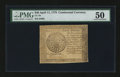 Colonial Notes:Continental Congress Issues, Continental Currency April 11, 1778 $40 PMG About Uncirculated50....