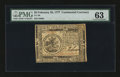 Colonial Notes:Continental Congress Issues, Continental Currency February 26, 1777 $5 PMG Choice Uncirculated63....