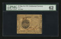 Colonial Notes:Continental Congress Issues, Continental Currency May 10, 1775 $7 PMG Uncirculated 62....