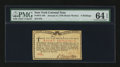 Colonial Notes:New York, New York January 6, 1776 (Water Works) 8s PMG Choice Uncirculated64 EPQ....