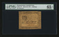 Colonial Notes:Pennsylvania, Pennsylvania March 25, 1775 4s PMG Gem Uncirculated 65 EPQ....