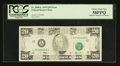 Error Notes:Missing Magnetic Ink, Fr. 2080-L $20 1993 Federal Reserve Note. PCGS Choice About New58PPQ.. ...