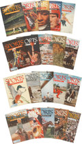 "Baseball Collectibles:Publications, 1954 ""Sports Illustrated"" Complete Run Of 20...."