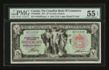 Canadian Currency: , Toronto, ON- The Canadian Bank of Commerce $5 1917 Ch. #75-16-04-06a. ...