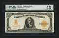 Large Size:Gold Certificates, Fr. 1169 $10 1907 Gold Certificate PMG Choice Extremely Fine 45....