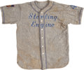 Baseball Collectibles:Uniforms, Circa 1930's-40's Buffalo Amateur League Game Worn Jersey....
