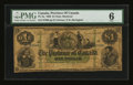 Canadian Currency: , PC-2a $1 1866. ...