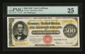 Large Size:Gold Certificates, Fr. 1217 $500 1922 Gold Certificate PMG Very Fine 25....