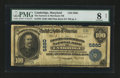 National Bank Notes:Maryland, Cambridge, MD - $100 1902 Plain Back Fr. 705 The Farmers &Merchants NB Ch. # 5880. ...