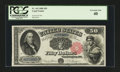 Large Size:Legal Tender Notes, Fr. 162 $50 1880 Legal Tender PCGS Extremely Fine 40....
