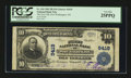 National Bank Notes:Wisconsin, Port Washington, WI - $10 1902 Plain Back Fr. 626 The First NB Ch. # 9419. ...