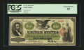 Large Size:Legal Tender Notes, Fr. 93 $10 1862 Legal Tender PCGS Choice About New 55....
