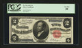 Large Size:Silver Certificates, Fr. 246 $2 1891 Silver Certificate PCGS Very Fine 30....