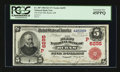 Burns, OR - $5 1902 Red Seal Fr. 587 The First NB Ch. # (P)6295