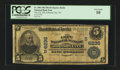 National Bank Notes:Tennessee, Johnson City, TN - $5 1902 Plain Back Fr. 598 The City NB Ch. #(S)6236. ...