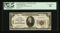 National Bank Notes:Arkansas, Eureka Springs, AR - $20 1929 Ty. 1 The First NB Ch. # 8495. ...