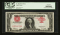 Error Notes:Large Size Errors, Fr. 40 $1 1923 Legal Tender PCGS About New 50PPQ....