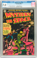 Golden Age (1938-1955):Science Fiction, Mystery in Space #3 (DC, 1951) CGC FN/VF 7.0 Off-white to whitepages....