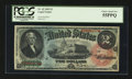 Large Size:Legal Tender Notes, Fr. 42 $2 1869 Legal Tender PCGS Choice About New 55PPQ.. ...
