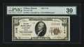National Bank Notes:Kansas, Clifton, KS - $10 1929 Ty. 1 The First NB Ch. # 7178. ...