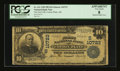 National Bank Notes:Arkansas, Cotton Plant, AR - $10 1902 Plain Back Fr. 631 The First NB Ch. # (S)10723. ...