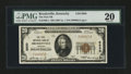 National Bank Notes:Kentucky, Brooksville, KY - $20 1929 Ty. 1 The First NB Ch. # 8830. ...