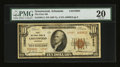 National Bank Notes:Arkansas, Greenwood, AR - $10 1929 Ty. 2 The First NB Ch. # 10983. ...