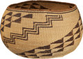 American Indian Art:Baskets, A NORTHERN CALIFORNIA TWINED BOWL . c. 1920...