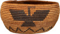 American Indian Art:Baskets, A HAVASUPAI PICTORIAL COILED BOWL. c. 1900 ...