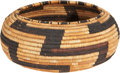 American Indian Art:Baskets, A POMO COILED BOWL. c. 1925...