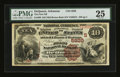 National Bank Notes:Arkansas, DeQueen, AR - $10 1882 Brown Back Fr. 490 The First NB Ch. # (S)5929. ...