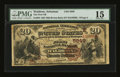 Waldron, AR - $20 1882 Brown Back Fr. 504 The First NB Ch. # (S)5849