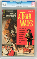 Silver Age (1956-1969):Adventure, Movie Comics - A Tiger Walks (Gold Key, 1964) CGC NM+ 9.6 Off-white pages....