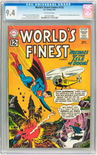 World's Finest Comics #125 (DC, 1962) CGC NM 9.4 Off-white pages