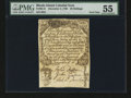 Colonial Notes:Rhode Island, Rhode Island December 2, 1740 20s Contemporary Counterfeit PMGAbout Uncirculated 55....