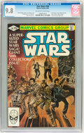 Modern Age (1980-Present):Science Fiction, Star Wars #50 (Marvel, 1981) CGC NM/MT 9.8 Off-white to whitepages....