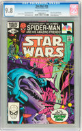 Modern Age (1980-Present):Science Fiction, Star Wars #54 (Marvel, 1981) CGC NM/MT 9.8 Off-white to white pages....
