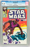 Modern Age (1980-Present):Science Fiction, Star Wars #58 (Marvel, 1982) CGC NM/MT 9.8 White pages....