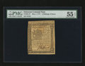 Colonial Notes:Delaware, Delaware May 1, 1777 2s6d PMG About Uncirculated 55 EPQ....