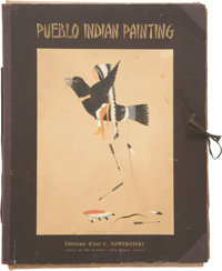 A PORTFOLIO OF PUEBLO INDIAN PAINTINGS c. 1932