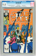 Modern Age (1980-Present):Science Fiction, Star Wars #60 (Marvel, 1982) CGC NM/MT 9.8 White pages....