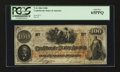Confederate Notes:1862 Issues, T41 PF-22 $100 1862.. ...